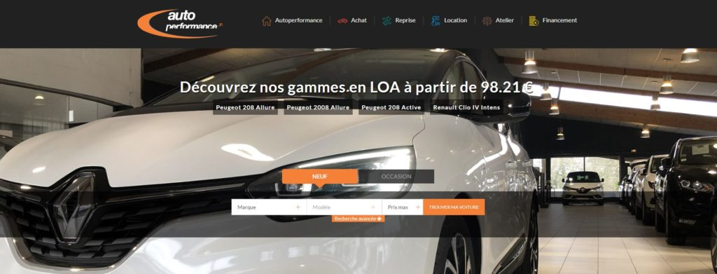auto performance quimper paris pluguffan